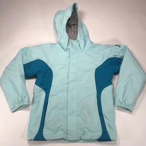 Burton Kids Dryride Coat Ski Hooded Jacket Size L